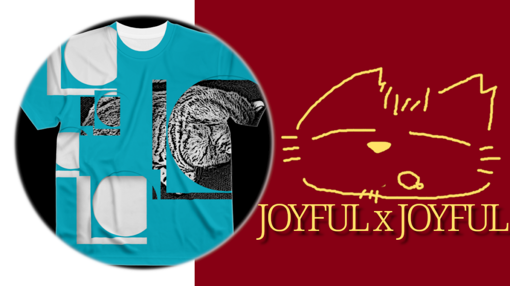 JOYFUL x JOYFUL No.00001 フルグラフィックTシャツ