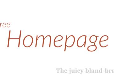 HomePage free